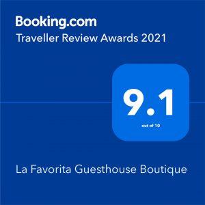 Booking La Favorita 2021 Award