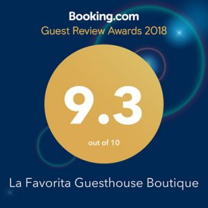 Booking award 2018 La Favorita hotel - winner-9.3